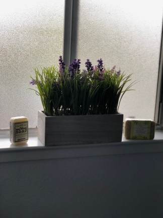 Lavender for the Shower Room